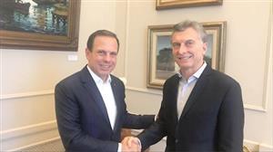 João Doria encontra políticos e empresários argentinos em Buenos Aires