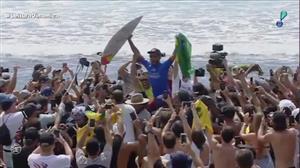 Surfista brasileiro Filipe Toledo vence a etapa norte-americana de Trestles