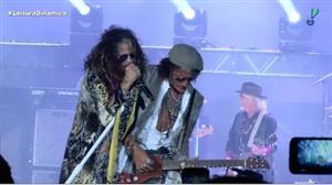 Aerosmith abre braço brasileiro da turnê 'Aero-Vederci Baby!' em BH