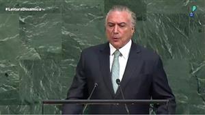 Michel Temer abre Assembleia Geral da ONU nos EUA