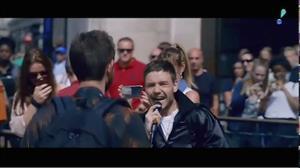 Ex-One Direction se une a DJ para gravar clipe nas ruas de Londres