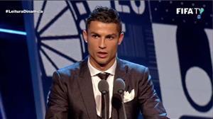 Cristiano Ronaldo é eleito melhor jogador do mundo pela 5ª vez
