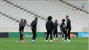 Seleção brasileira faz último treino em Lille antes de enfrentar o Japão