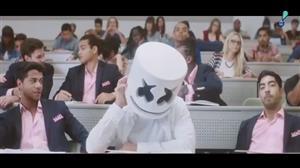 DJ Marshmello divulga divertido clipe da canção 'Blocks'