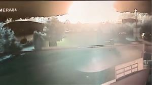 EUA divulgam vídeo que mostra o momento de explosão de gasoduto