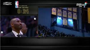 Lakers aposentam camisas usadas na equipe por Kobe Bryant