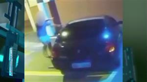 Vídeo chocante flagra homem atropelando a própria mulher em SP