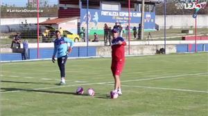 Rogério Ceni comanda primeiro treino no Fortaleza