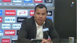 Jair Ventura é apresentado como novo treinador do Santos