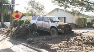 Deslizamentos de terra causam 17 mortes na Califórnia
