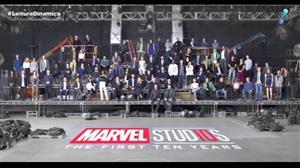 Marvel comemora dez anos de produção cinematográfica com clipe especial