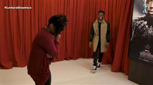 Astro de 'Pantera Negra' surpreende fãs em programa de TV dos EUA