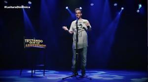 Humorista Diogo Portugal é uma das atrações da Agenda Cultural