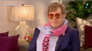 Elton John diz que 'Gnomeu e Julieta' tem mensagem para crianças e adultos
