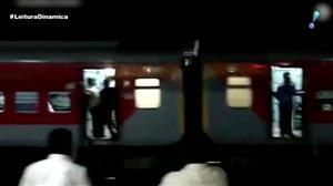 Trem com mil passageiros fica desgovernado por 15 km na Índia