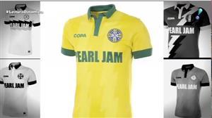 Pearl Jam lança linha de camisas inspiradas na Copa do Mundo