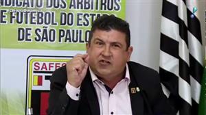Presidente do Sindicato dos Árbitros de SP critica presidente do Palmeiras