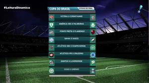 CBF divulga os duelos das quartas de final da Copa do Brasil