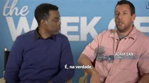 """Chris Rock e Adam Sandler retomam parceria em comédia """"Lá Vem os Pais"""""""