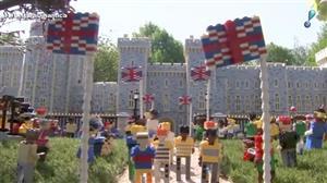 Parque temático de Lego cria miniatura de castelo de Windsor