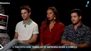 "Érica Reis conversa com elenco de ""13 Reasons Why"""