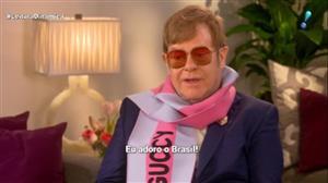Elton John fala sobre suas participações em filmes infantis