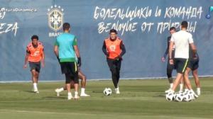 Seleção volta aos treinos de olho na partida contra o México