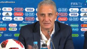 Tite evita falar sobre futuro na seleção após derrota para a Bélgica