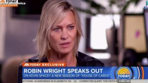 Nova protagonista de 'House of Cards', Robin Wright fala sobre Kevin Spacey