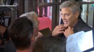 George Clooney sofre acidente de moto na Itália