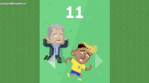 Fama de 'cai-cai' de Neymar motiva a criação de jogo