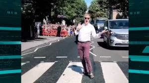 Paul McCartney volta à icônica rua 'Abbey Road'