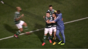 Palmeiras vence o Bahia por 1 a 0 e avança à semifinal da Copa do Brasil