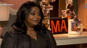 Nunca vi uma mulher negra protagonizar um filme assim, diz Octavia Spencer