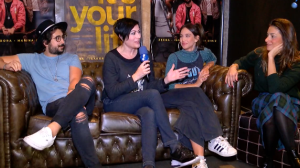 "Zeeba, Isadora e Marina Diniz falam do hit ""It's Your Life"""