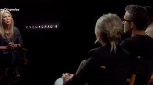 """Confira entrevista exclusiva com o elenco do filme """"Esquadrão 6"""""""