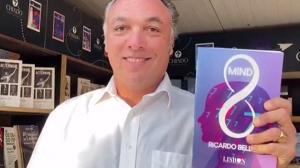 Empresário e escritor brasileiro Ricardo Bellino lança livro em Portugal