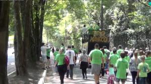 Moradores de Osasco fazem ato ao ar livre em prol do meio ambiente