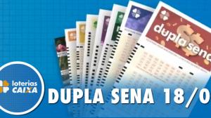 Resultado da Dupla Sena - Concurso nº 2039 - 18/01/2020