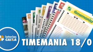 Resultado da Timemania - Concurso nº 1434 - 18/01/2020
