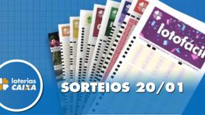 Resultado da Lotofácil - Concurso nº 1918 - 20/01/2020