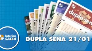Resultado da Dupla Sena - Concurso nº 2040 - 21/01/2020