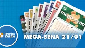 Resultado da Mega-Sena - Concurso nº 2226 - 21/01/2020