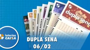 Resultado da Dupla Sena - Concurso nº 2047 - 06/02/2020