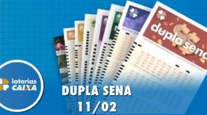 Resultado da Dupla Sena - Concurso nº  2049 - 11/02/2020