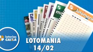 Resultado da Lotomania - Concurso nº 2048 - 14/02/2020
