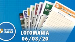 Resultado da Lotomania - Concurso nº 2054 - 06/03/2020