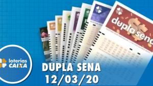 Resultado da Dupla Sena - Concurso nº 2061 - 12/03/2020