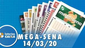 Resultado da Mega-Sena - Concurso nº 2243 - 14/03/2020