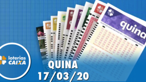Resultado da Quina - Concurso nº 5222 - 17/03/2020